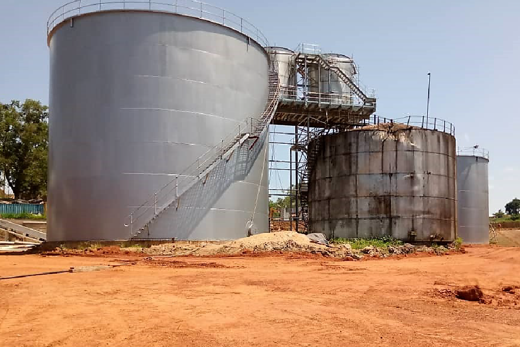 Site Assembled Storage Tank